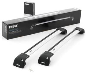 Thule WingBar Edge,  BMW 3-serie Touring, 5-dr Kombi, 10- 11with flush railing , Kit 4003